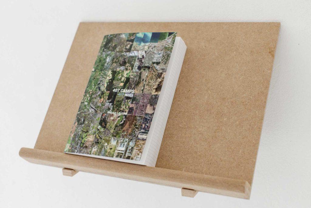 407 camps - Index, autoédition, 474 pages, consultable sur Blurb