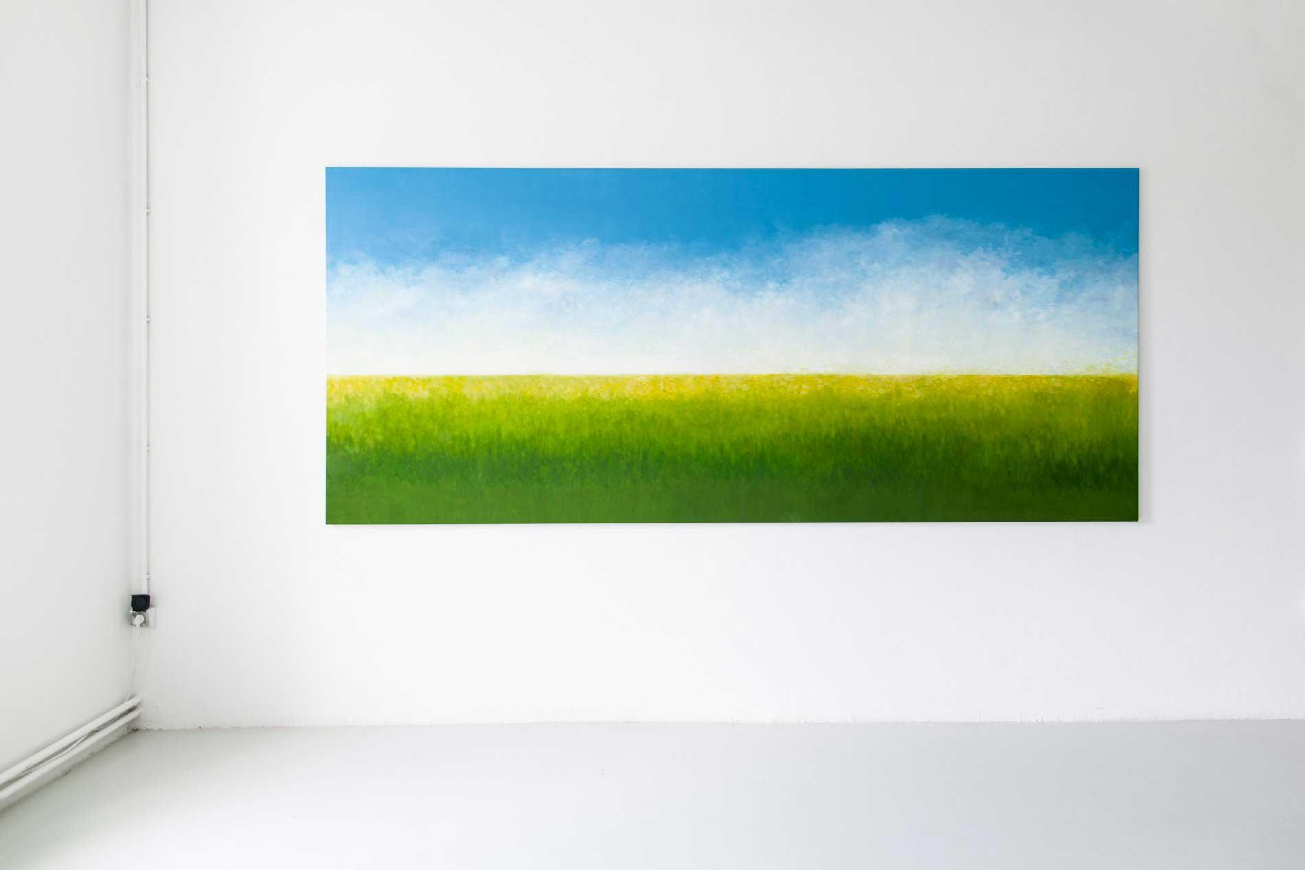 """""""Il faut être de son temps et peindre ce que l'on voit""""Manet, huile sur toile, 140 x 320 cm"""